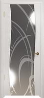 Арт Деко Стайл Вэла беленый дуб зеркало с рисунком