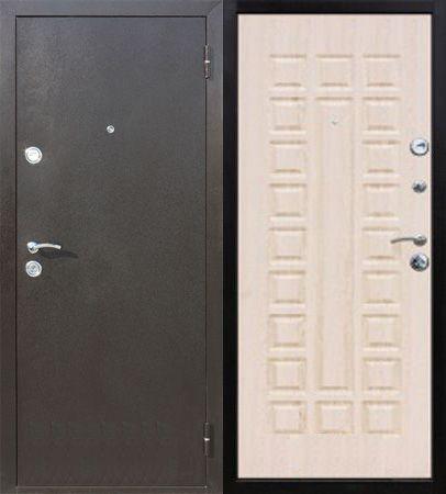 Стальная дверь Йошкар Модель - Йошкар  Беленый Дуб