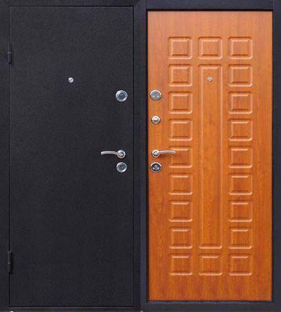Стальная дверь Йошкар Модель - Йошкар  Золотистый Дуб