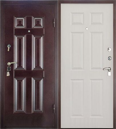 Стальная дверь Valberg Модель - BMD-4 (ORION)