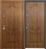 Стальная дверь Torex ULTIMATUM PP КВ-25 Дуб медовый / КВ-25 Дуб медовый