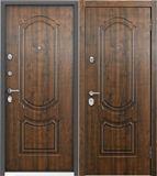 Стальная дверь Torex ULTIMATUM PP КВ-25 Орех грецкий / КВ-25 Орех грецкий