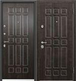 Стальная дверь Torex ULTIMATUM PP КВ-3 Дуб мореный / КВ-6 Дуб мореный