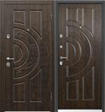 Стальная дверь Torex ULTIMATUM PP КВ-4 Орех грецкий / КВ-4 Орех грецкий