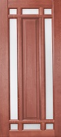 Лаки Стар Ока Альпина цвет махагон остекленная частично