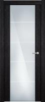 Status Versia 222 венге пепельный стекло каленое 8мм с горизонтальной гравировкой