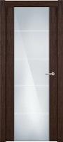 Status Versia 222 орех стекло каленое 8мм с горизонтальной гравировкой