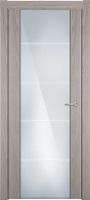 Status Versia 222 ясень стекло каленое 8мм с горизонтальной гравировкой