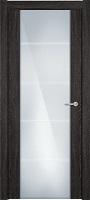 Status Versia 222 дуб патина стекло каленое 8мм с горизонтальной гравировкой