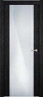Status Futura 332 венге пепельный стекло каленое 8мм с вертикальной гравировкой