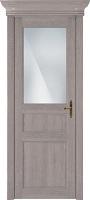 Status Classic 532 дуб серый стекло сатинато белое матовое