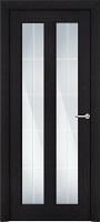 Status Fusion 612 дуб черный стекло алмазная гравировка Английская решетка