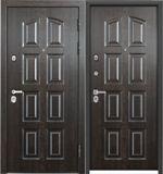 Стальная дверь Torex PROFESSOR 4 02 PP  РК-4N Дуб мореный  / РК-4N Дуб мореный
