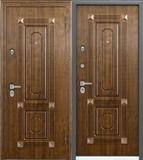 Стальная дверь Torex PROFESSOR 4 02 PP 5D2 Дуб медовый /  5D2 Дуб медовый