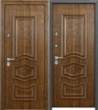 Стальная дверь Torex PROFESSOR 4 02 PP 5D5 Дуб медовый /  5D5 Дуб медовый