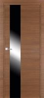 PROFIL DOORS 5Z Малага Черри Кроскут черный лак