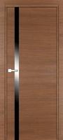 PROFIL DOORS 6Z Малага Черри Кроскут черный лак