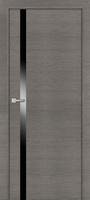PROFIL DOORS 6Z Грей Кроскут черный лак