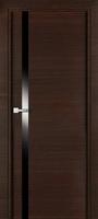 PROFIL DOORS 6Z Венге Кроскут черный лак