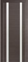 PROFIL DOORS 9Z Грей Кроскут белый лак
