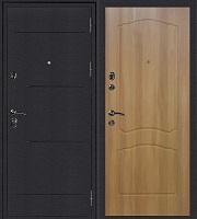 Стальная дверь Колизей Классика дуб золотистый