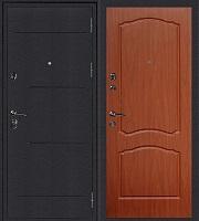 Стальная дверь Колизей Классика итальянский орех