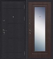 Стальная дверь Колизей Зеркало венге