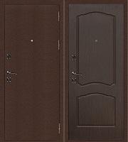 Стальная дверь Стандарт Антик Медь Классика венге