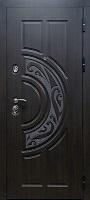 Стальная дверь Меркурий венге полосатый