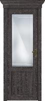 Status Classic 521 дуб патина стекло алмазная гравировка «Грань»