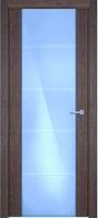 Status Versia 222 дуб винтаж стекло каленое 8мм с горизонтальной гравировкой