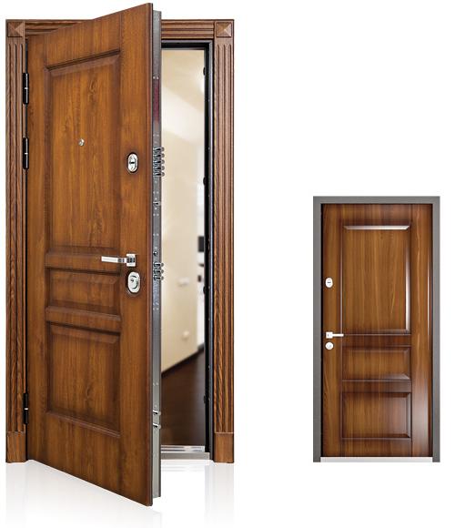 Стальная дверь Torex PROFESSOR 3 01 PP Ф-3 Дуб медовый