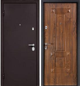 Стальная дверь Torex ULTIMATUM MP Капучино / KB-9 Орех грецкий
