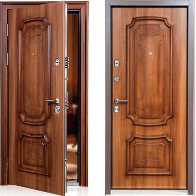 Стальная дверь Torex PROFESSOR 3 02 PP PK-3FDL Дуб медовый