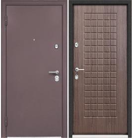 Стальная дверь Torex ULTIMATUM MP Капучино / KB-2 дуб пепельный