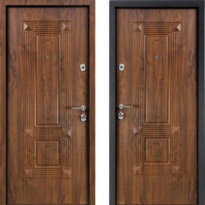 Стальная дверь Torex ULTIMATUM PP KB-9 Орех грецкий / KB-9 Орех грецкий