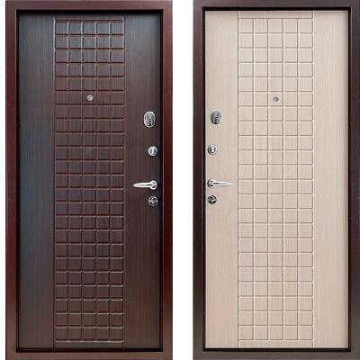 Стальная дверь Torex SUPER OMEGA 3 К13 Венге / К13 Венге Светлое