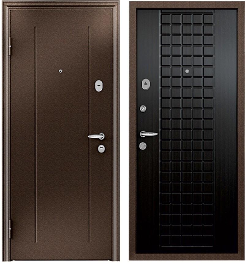 Стальная дверь Torex SUPER OMEGA 2 RGSO Медь / К13 Венге Конго