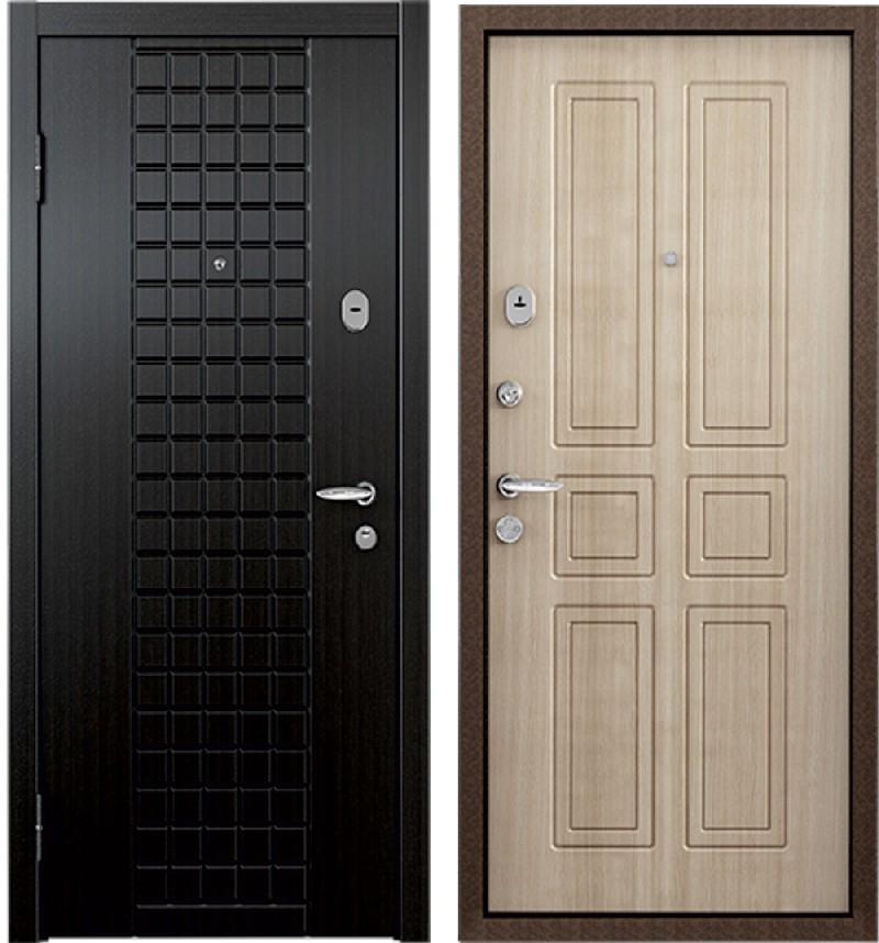 Стальная дверь Torex SUPER OMEGA 3 K13 Венге / Н4 Венге светлое