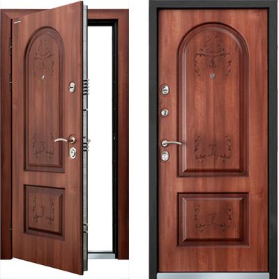 Стальная дверь Torex PROFESSOR 3 02 PP «Барса», PK-2 FDL ПВХ «Амати»
