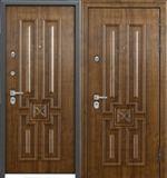 Стальная дверь Torex PROFESSOR 4 02 PP 5D4 Дуб медовый /  5D4 Дуб медовый