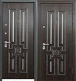 Стальная дверь Torex PROFESSOR 4 02 PP 5D4 Дуб мореный /  5D4 Дуб мореный